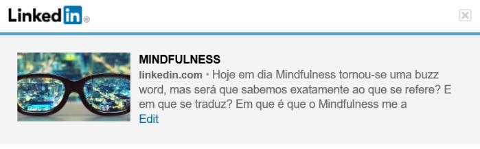 Mindfulness artigo