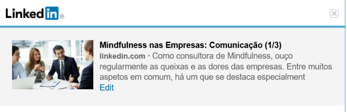 Mindfulness nas Empresas (1/3)
